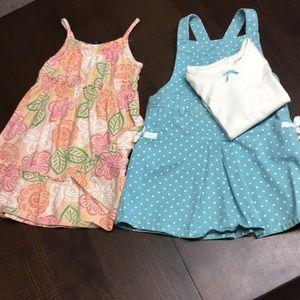 2 dresses